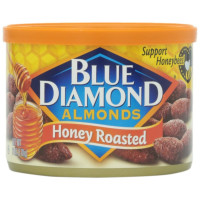 Blue Diamond Almonds, Honey Roasted - 6 oz (170 g)