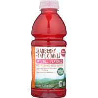 Whole Foods Market, Cranberry + Antioxidants Naturally Flavored Nutrient Enhanced Water Be