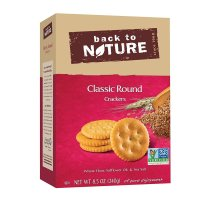 Back to Nature, Non GMO, Classic Round Crackers - 8.5 oz (240 g)