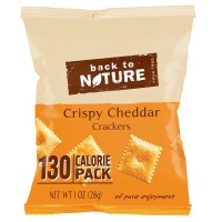 Back to Nature, Non GMO Grab & Go Crackers, 8 Count - 1 oz (28 g)  *Select flavor
