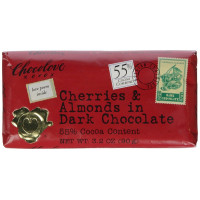 Chocolove, Cherries and Almonds in Dark Chocolate - 3.2 oz (90 g)  *Select flavor