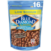 Blue Diamond Almonds, Low Sodium Lightly Salted - 16 oz (454 g)