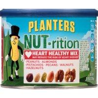 Planters, Nutrition Heart Healthy Mix (Peanuts, Almonds, Pistachios, Pecans, Walnuts & Haz