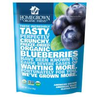 Homegrown Organic Farms, Freeze Dried Blueberries - 1.2 oz (34 g)
