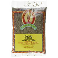 Laxmi, All-Natural Dried Cumin Seeds, Traditional Indian Cooking Spices - 7 oz (200 g) x 3