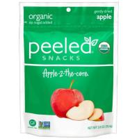 Peeled Snacks, Organic Apple 2 The Core - 2.8 oz (79.4 g) x 3 Packs