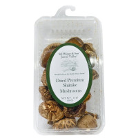 Jansal Valley, Dried Shiitake Mushrooms - 1 oz (28 g) x 2 Packs