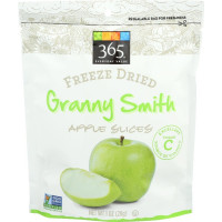 365 Everyday Value, Freeze Dried Granny Smith Apple Slices - 1 oz (28 g) x 4 Packs