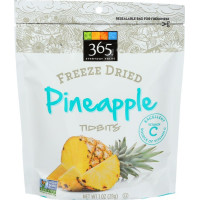 365 Everyday Value, Freeze Dried Pineapple Tidbits - 1 oz (28 g)