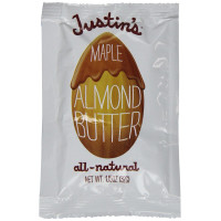 Justin's Nut Butter, Maple Almond Butter, 10 Squeeze Packs - 1.15 oz (32 g) Each