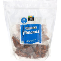 365 Everyday Value, Whole Almonds, 13 Packs - 1.2 oz (34 g) each