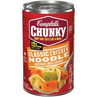 Campbell's, Chunky Soup, Classic Chicken Noodle, 18.6 oz (527 g)