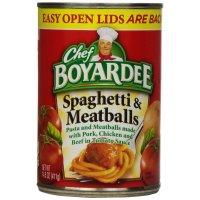 Chef Boyardee, Spaghetti & Meatballs In Tomato Sauce - 14.5 oz (411 g)
