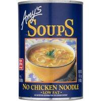 Amy's Organic Soups, Vegan No Chicken Noodle - 14.1 oz (400 g)