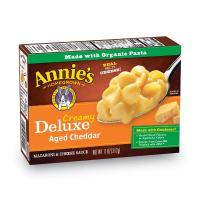 Annie's, Macaroni and Cheese, Shells & Real Aged Cheddar Sauce Mac and Cheese - 11 oz (312