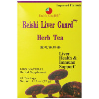 Health King, Herb Tea, Reishi Liver Guard, 20 Tea Bags - 1.12 oz (32 g)