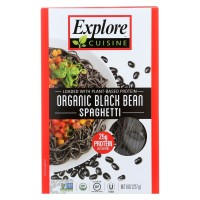 Explore Asia, Organic Black Bean Spaghetti - 8.0 oz (227 g)