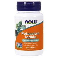 Now Foods, Potassium Iodide, 30 mg - 60 Tablets