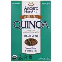 Ancient Harvest, Pasta, Quinoa Vegie Curls, Wheat Free - 8 oz (227 g)