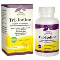 EuroPharma, Terry Naturally, Tri-Iodine, 12.5 mg - 90 Capsules