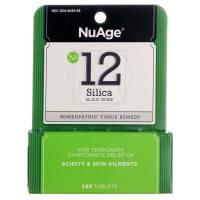 Hyland's, NuAge, No 12 Silica, Silicic Oxide - 125 Tablets