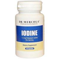Dr. Mercola, Iodine, 1.5 mg - 30 Capsules