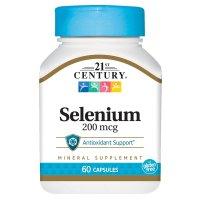 21st Century, Selenium, 200 mcg - 60 Capsules