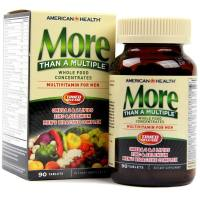 American Health, More Than A Multiple, Multivitamin for Men - 90 Tablets