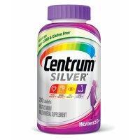Centrum, Silver, Multivitamin For Women 50 Plus - 200 Tablets
