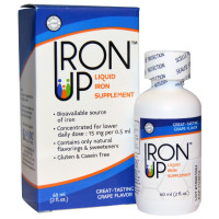 A.C. Grace, Iron Up, Liquid Iron Supplement, Grape Flavor - 2 oz (60 ml)