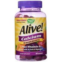 Nature's Way, Alive! Calcium - 60 Gummies