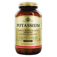 Solgar, Potassium - 250 Tablets