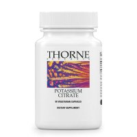 Thorne Research, Potassium Citrate for Kidney, Heart, and Skeletal Support - 90 Vegetarian