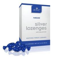 Activz, Natural Silver Lozenges, 21 Lozenges - 3.4 oz (95 g)