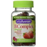 VitaFusion, B Complex Adult Vitamins, Natural Strawberry Flavor - 70 Gummies