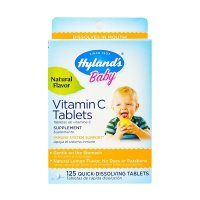 Hyland's, Baby, Vitamin C Tablets, Natural Lemon Flavor - 125 Quick-Dissolving Tablets