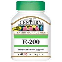 21st Century, E-200 - 110 Softgels
