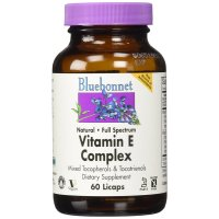 Bluebonnet Nutrition, Vitamin E Complex - 60 Licaps