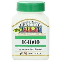 21st Century, E-1000 - 55 Softgels