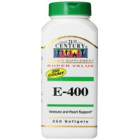 21st Century, E-400 - 250 Softgels