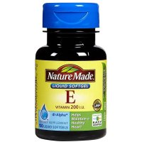 Nature Made, Vitamin E, 200 IU - 100 Softgels