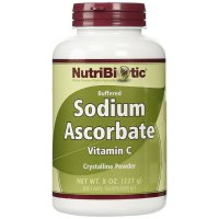 NutriBiotic, Buffered Sodium Ascorbate, Vitamin C, Crystalline Powder - 8 oz (227 g)