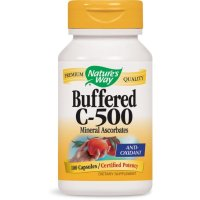 Nature's Way, Buffered C-500 - 100 Capsules