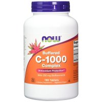 Now Foods, Buffered C-1000 Complex - 180 Tablets