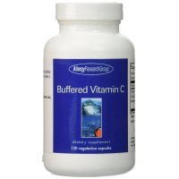 Allergy Research Group, Buffered Vitamin C - 120 Veggie Caps