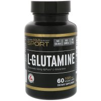 California Gold Nutrition, L-Glutamine, AjiPure, 1000 mg - 60 Veggie Caps