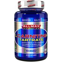 ALLMAX Nutrition, L-Carnitine+ Tartrate + Vitamin B5, 735 mg - 120 Capsules