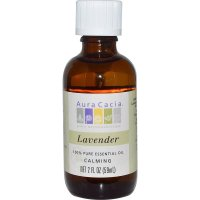 Aura Cacia, 100% Pure Essential Oil, Lavender, Calming - 2 fl oz (59 ml)