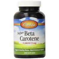Carlson Labs, Super Beta Carotene, 25,000 IU (15 mg) - 250 Soft Gels