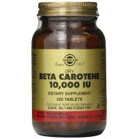 Solgar, Dry Beta-Carotene, 10,000 IU - 250 Tablets